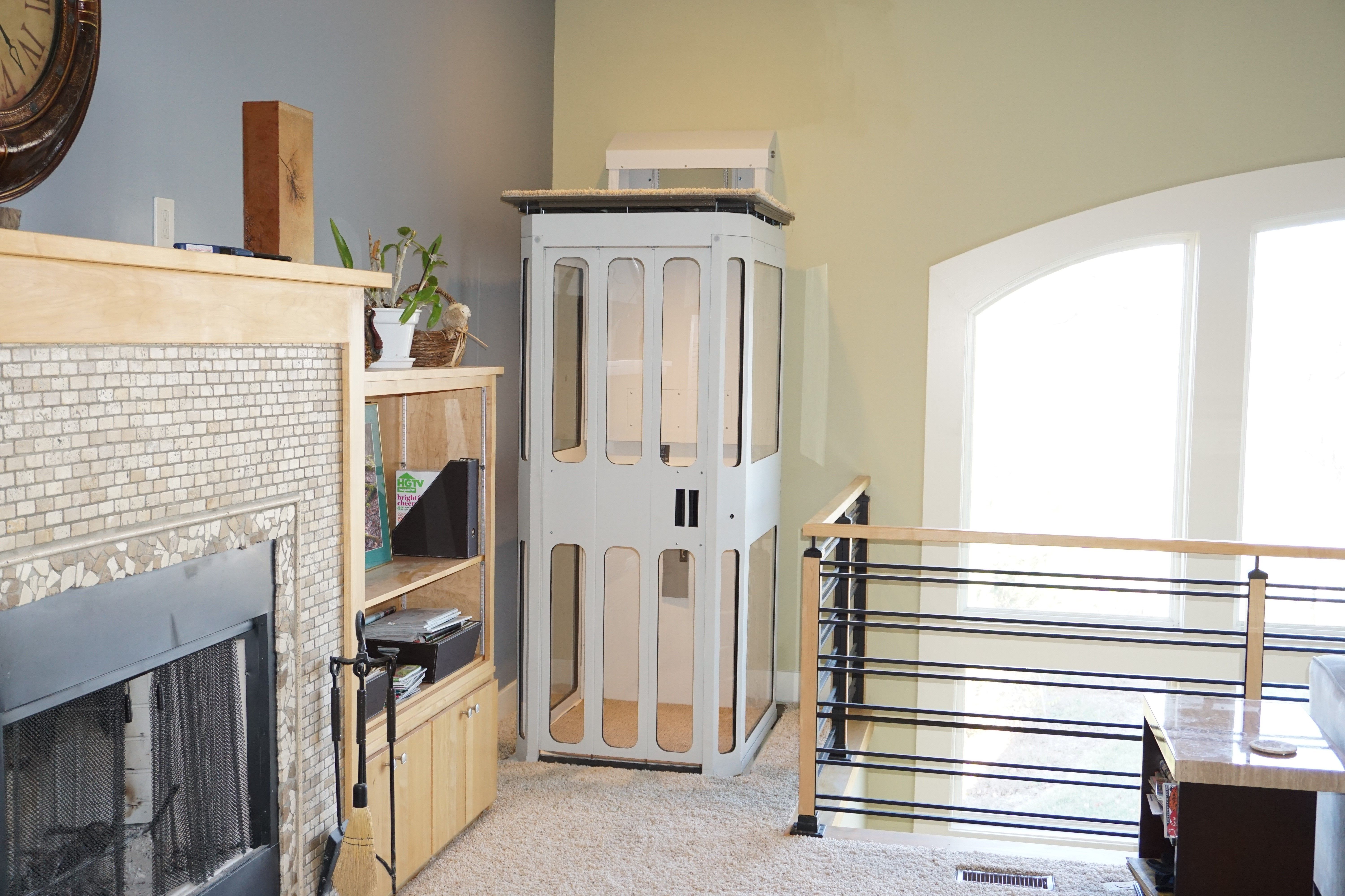 New home elevator designed especially for upgrading your current ...