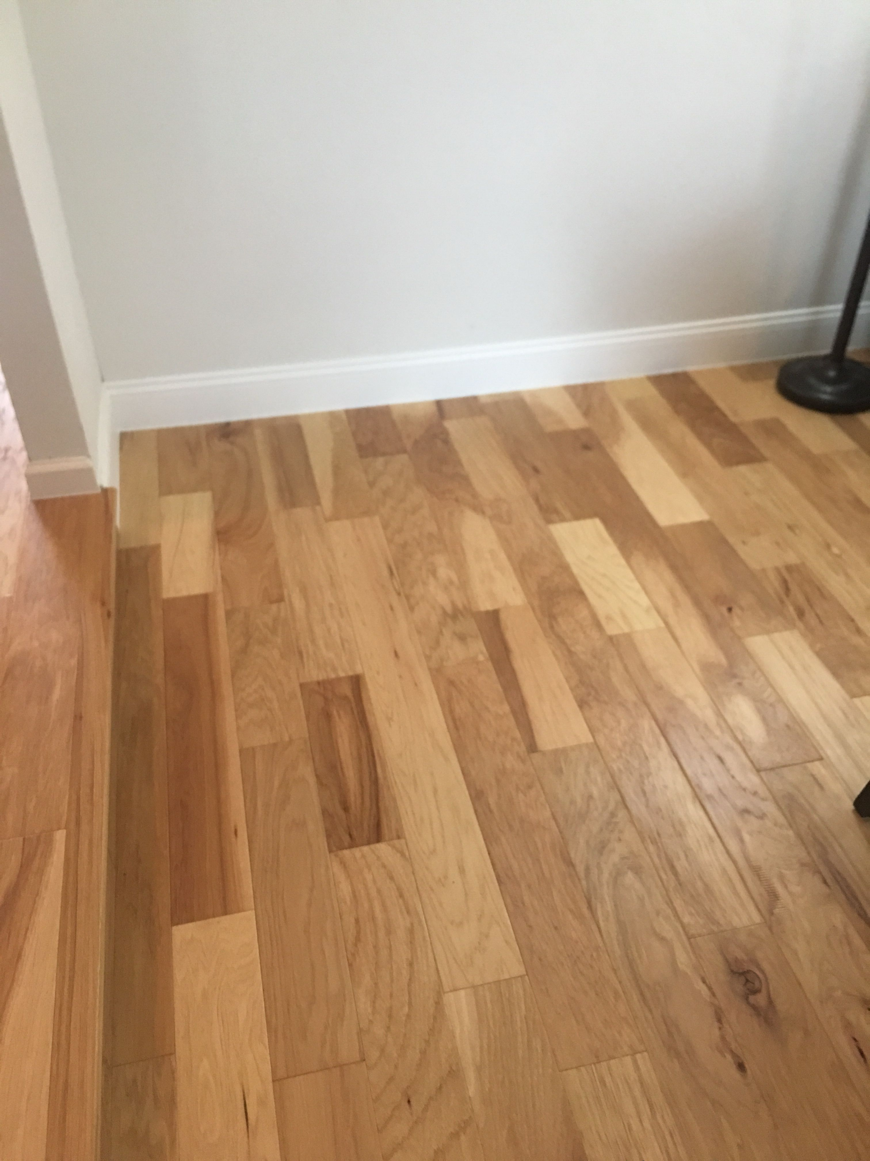 Natural Hickory Wood Laminate Flooring Hardwood