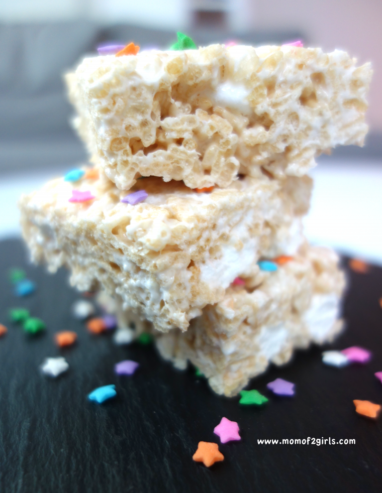 Amerikanisches Marshmallow Rezept: Rice Krispie Treat | mom of 2 girls