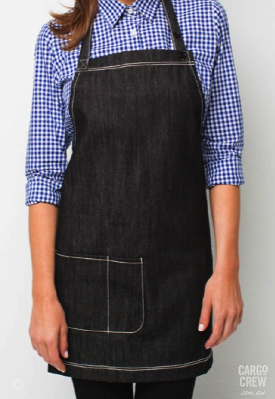 86cd76968fd Introducing the Mini bib - the latest addition to the Harvest denim apron…