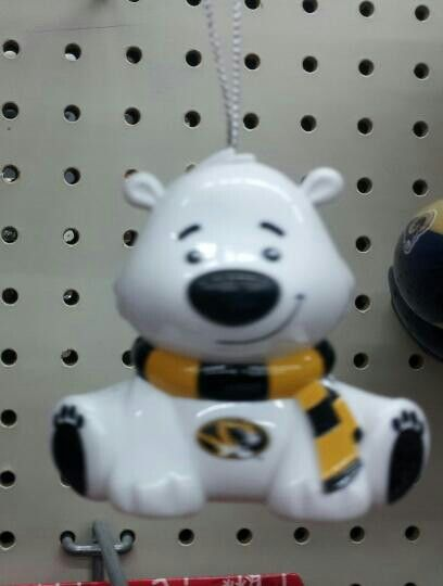 Polar Bear Mizzou Christmas ornament. | Christmas ...