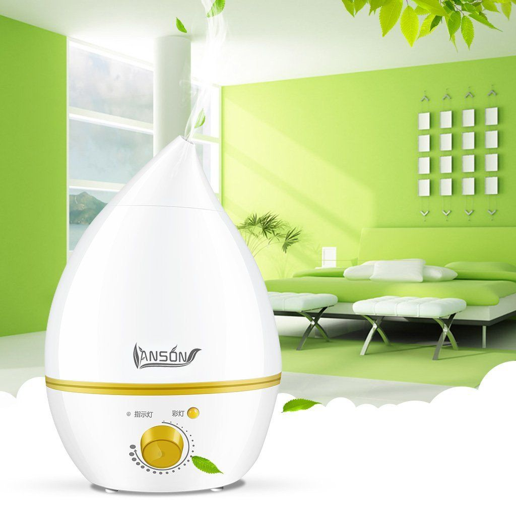 Amazon.com: Anson Cool Mist humidifier Whisper Quiet Technology for ...