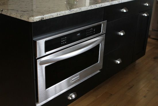 Plain Kitchenaid 24 Built In Microwave Builtin Stainless Steel