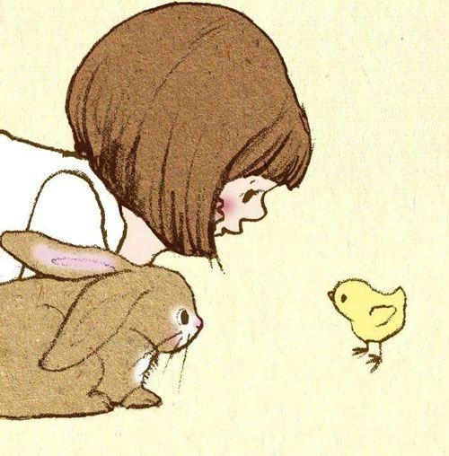 Children illustrator - Belle & Boo (Segundo a @camilaboneaux eu pequena se tivesse um coelho)