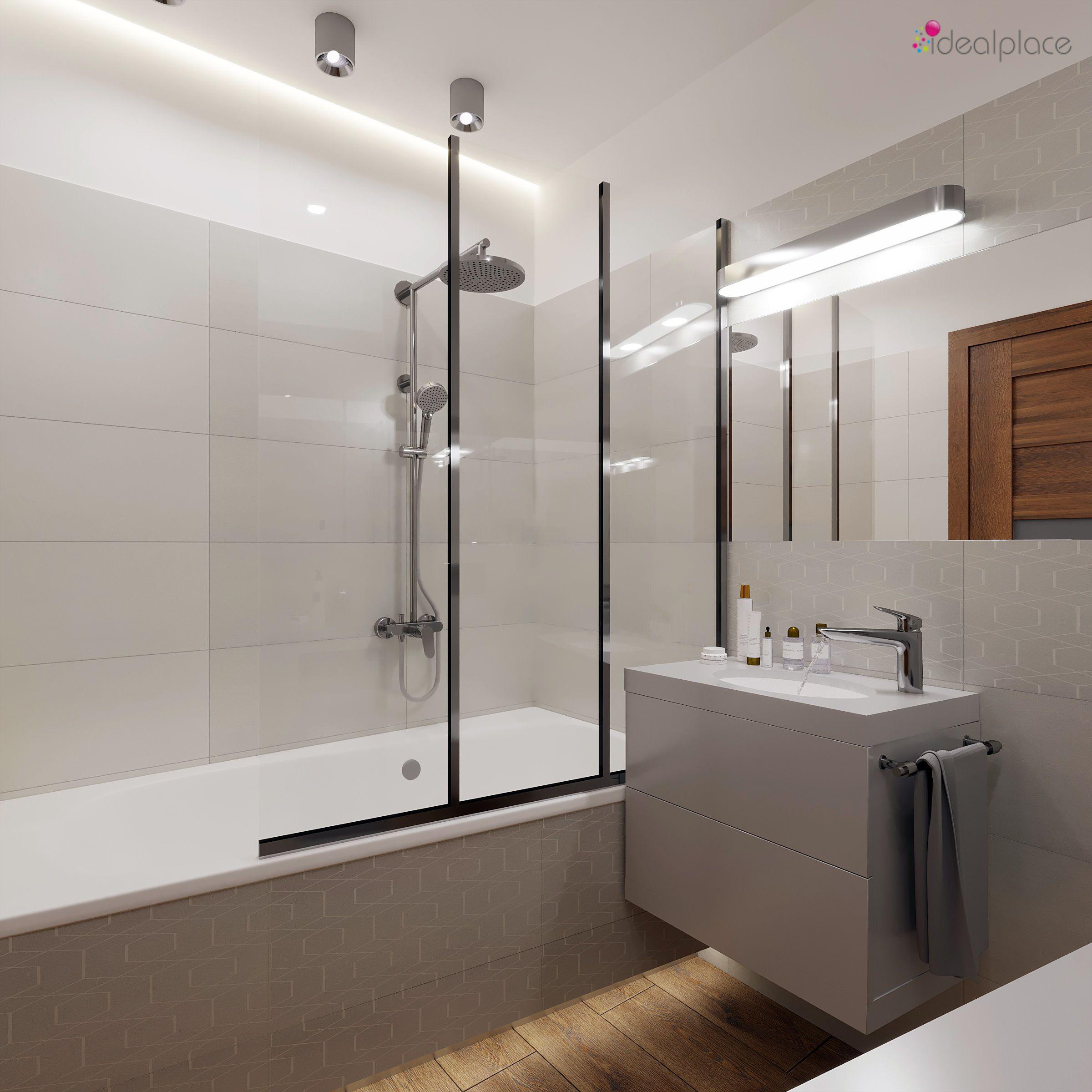 łazienka W Bloku Płytki Paradyż Taiga Koło Projekty