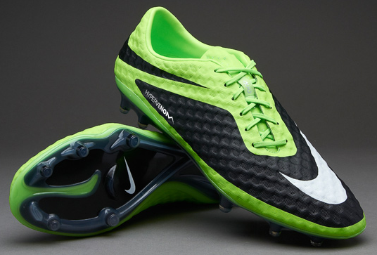 finest selection 712db cc0d6 Nike Hyper Venom Lime White Black Phantom SG-Pro size 7 1 2 us