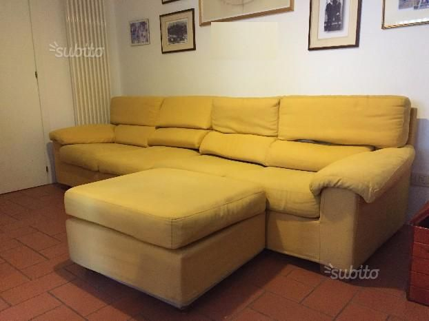 divano-letto-con-pouf | subito.it | Pinterest