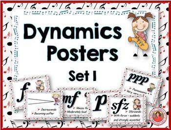 Music Dynamics Poster