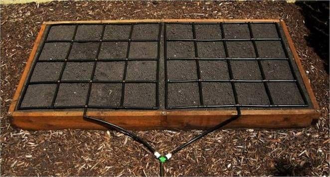 Garden Grid Drip Irrigation System Offers Quick 400 x 300
