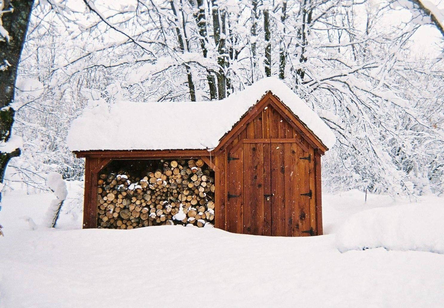 Our Vermont Gem Holds 2 Cords Of Firewood And Has Secure Sturdy Storage A Beautiful Example Of A Post And Beam Firew Firewood Shed Diy Shed Plans Shed Plans