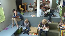 Focus : étage spécial enfants