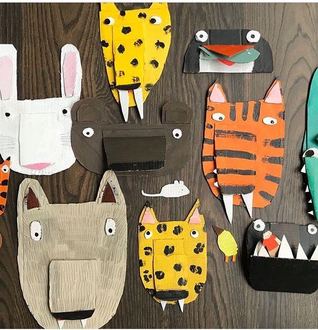 Photo of simple animal masks