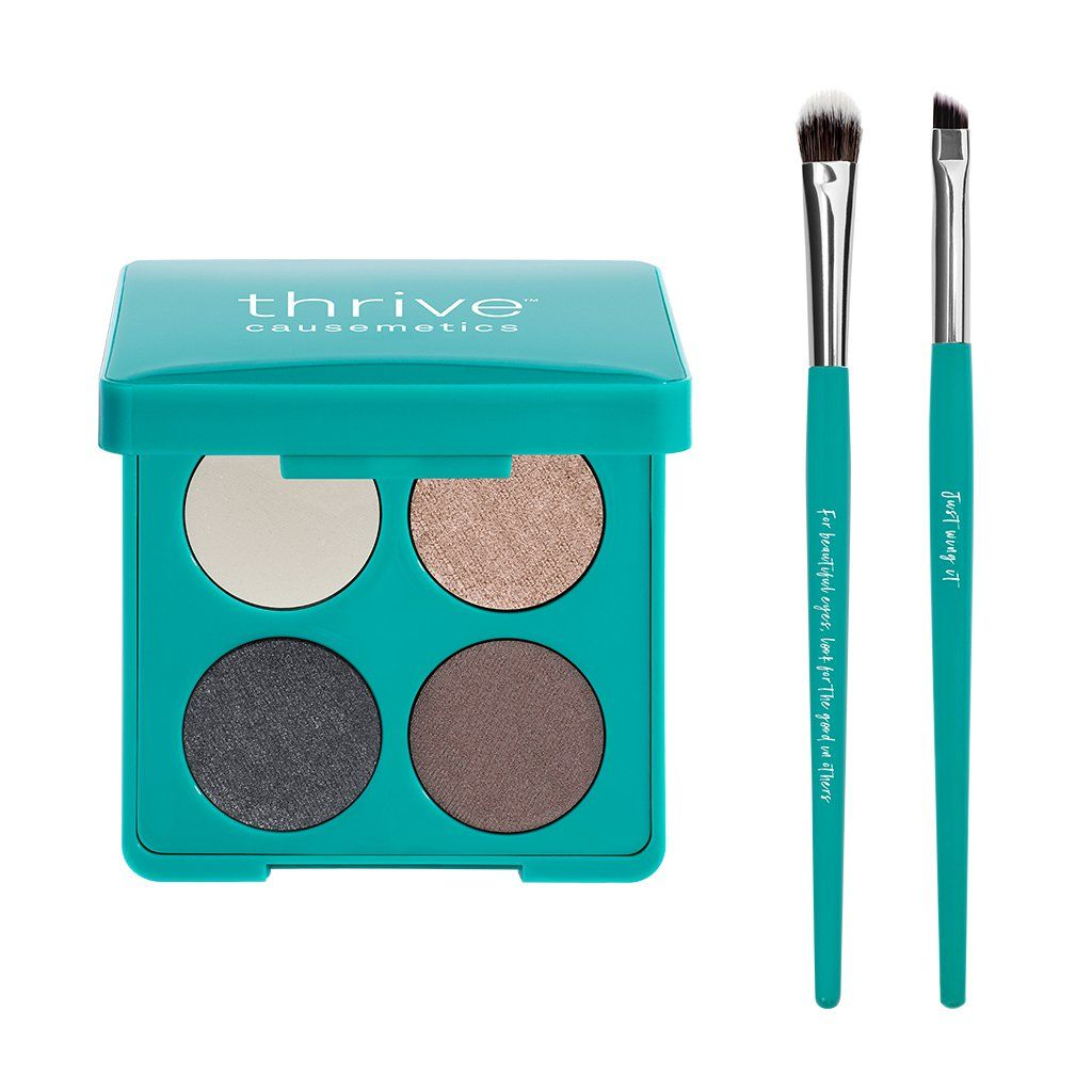Eyeshadow + Brushes Set