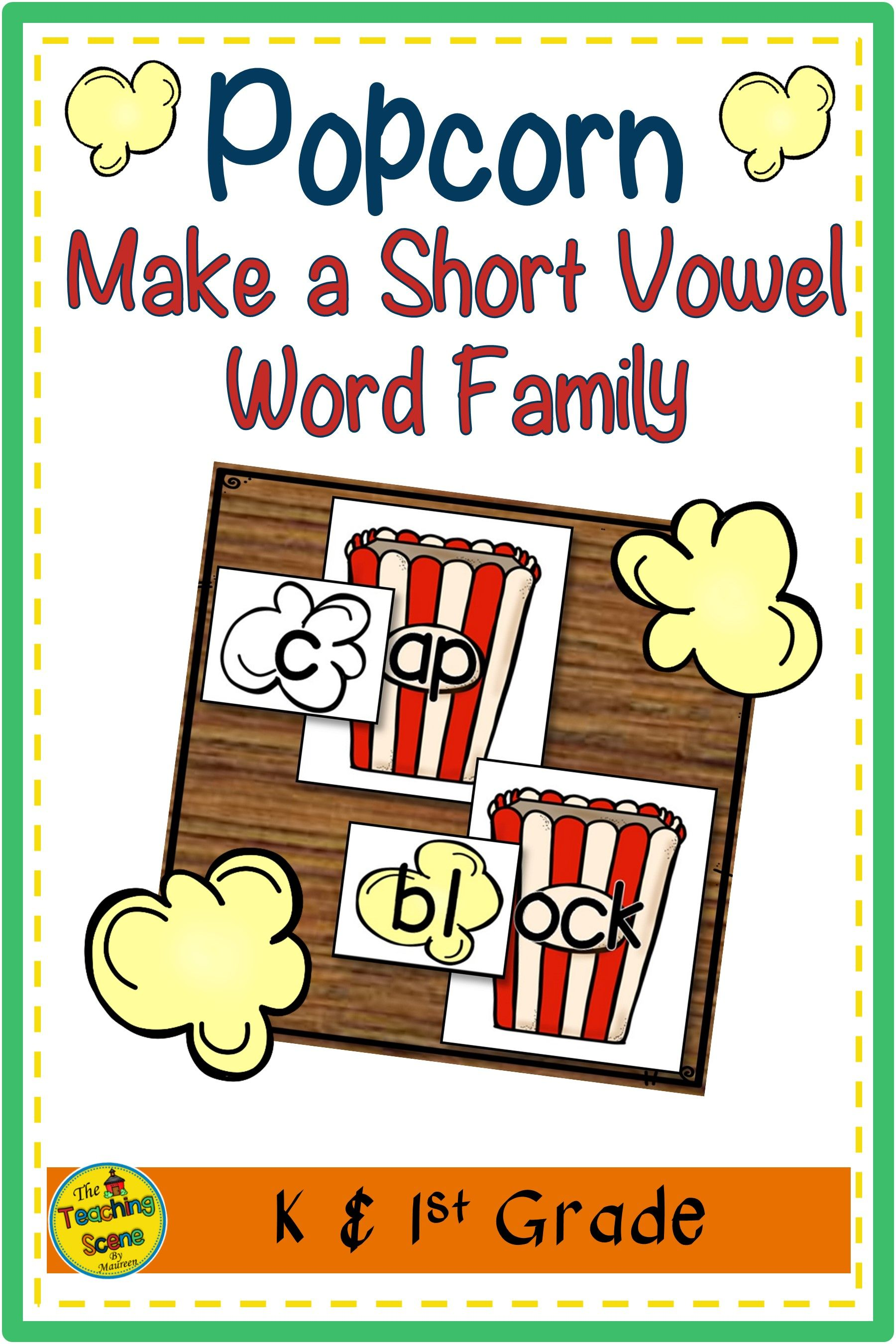 Popcorn Letter Amp Sound Match Game In