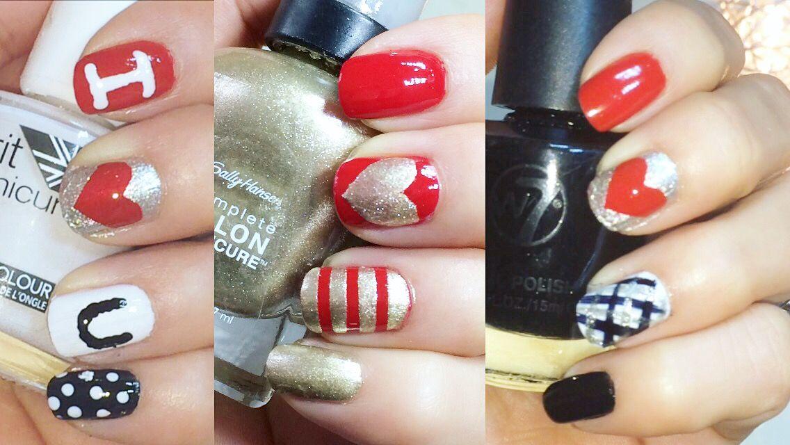 Diseño de uñas súper fáciles para San Valentín, todo lo que ...