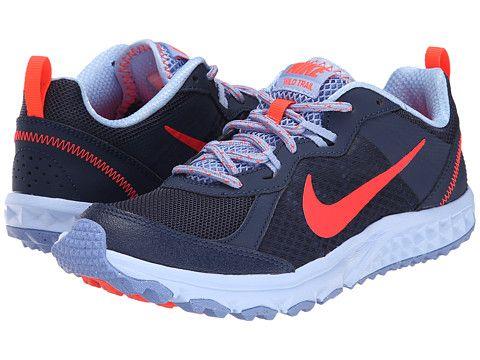 097b902f2a08 Nike Wild Trail Midnight Navy Aluminum Polar Bright Crimson - Zappos.com  Free Shipping BOTH Ways