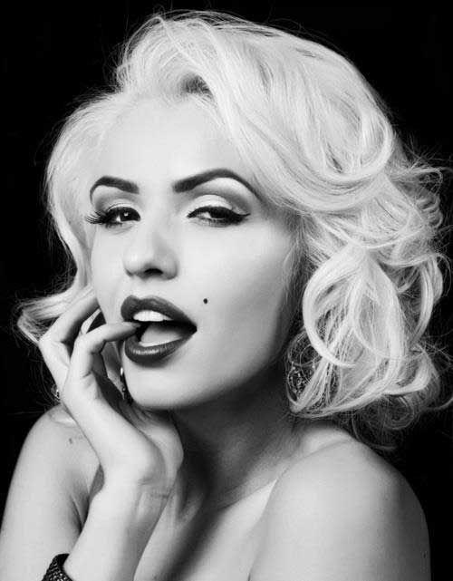 Old Hollywood Vintage Short Wawy Hairstyles In 2020 Glamour Makeup Vintage Hairstyles Medium Hair Styles