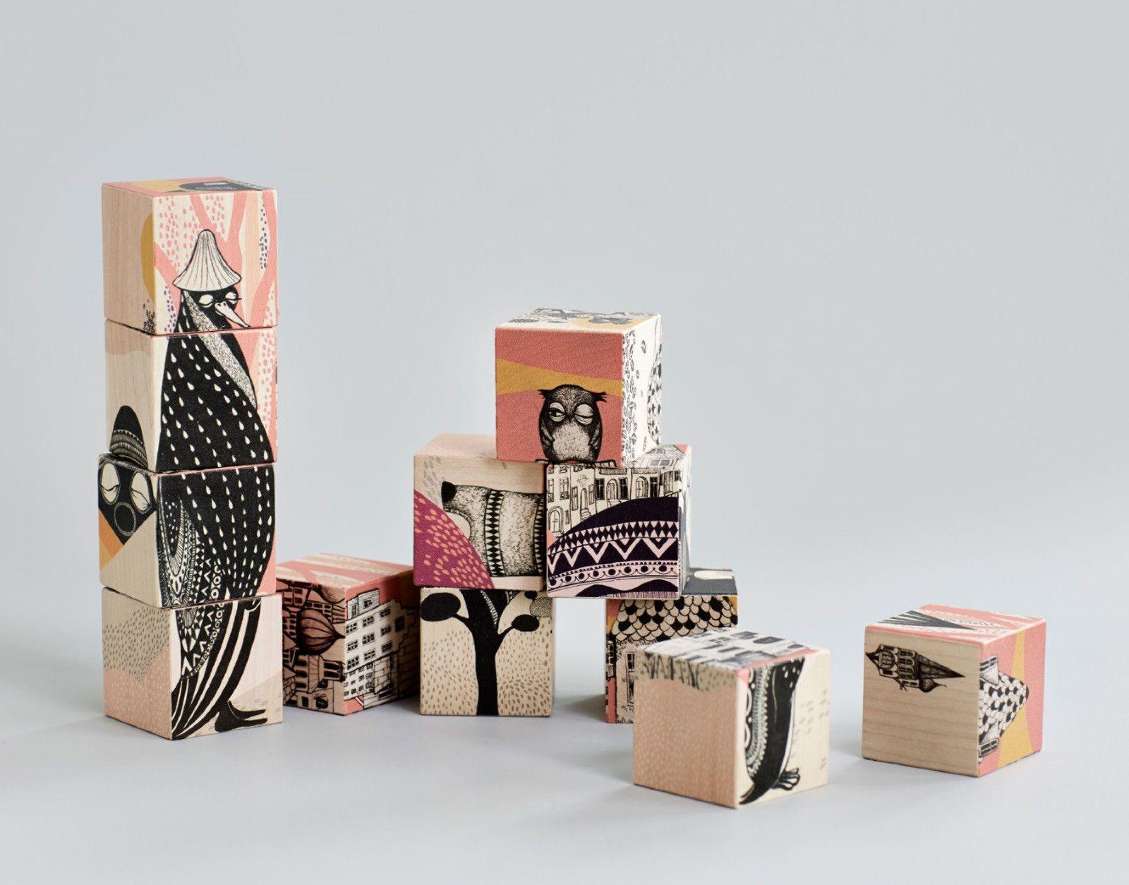 Einrichten Design De building blocks würfelpuzzle mini empire einrichten design de