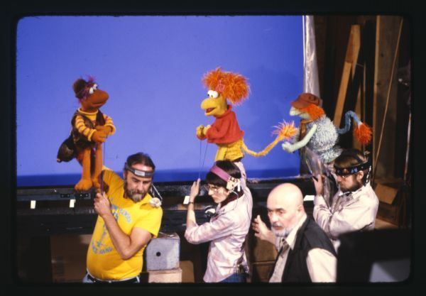 Jerry Nelson Karen Prell And Dave Goelz Gobo Red And Boober Muppets The Muppet Show Scene Photo