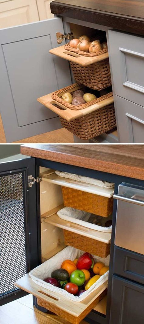 15 Insanely Cool Ideas for Storing Fresh Produce -