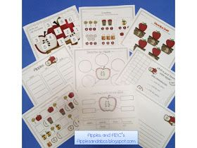 Apples and ABC's: Back to School Apples Unit