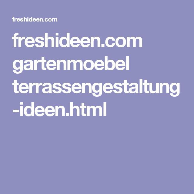 freshideen.com gartenmoebel terrassengestaltung-ideen.html