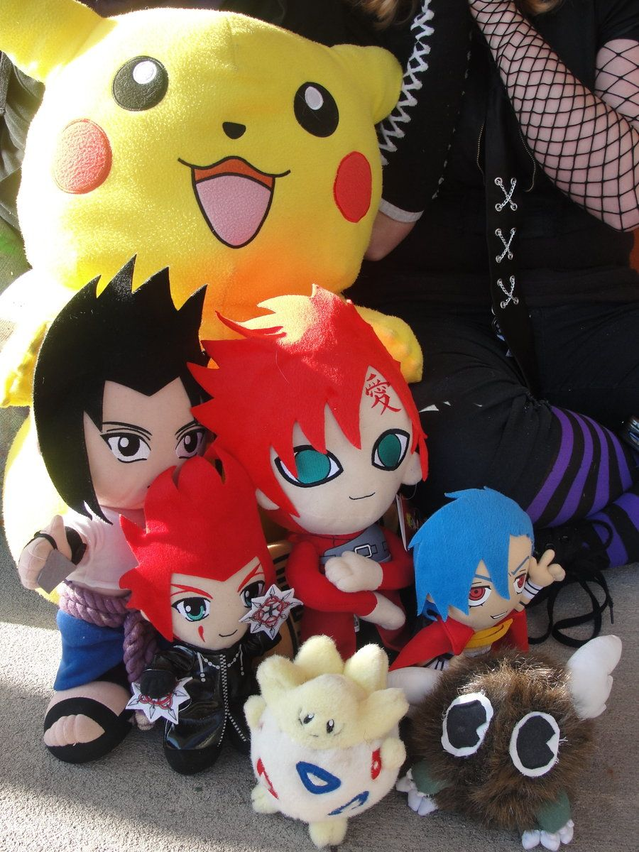 I love all of those plushies so much.