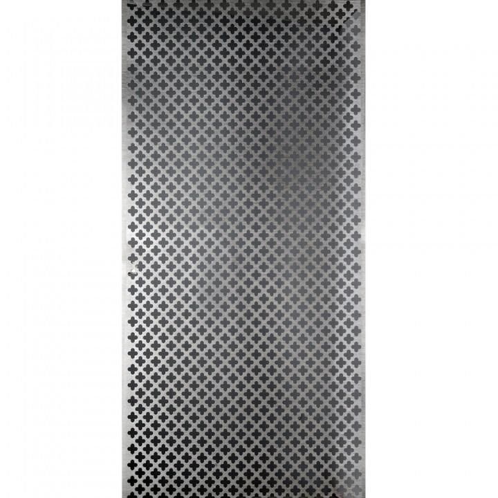 Perforated Aluminum Sheet 12 X 24 X 0 02 Cloverleaf Pattern Metal Sheet M D Building Products Aluminum Sheets
