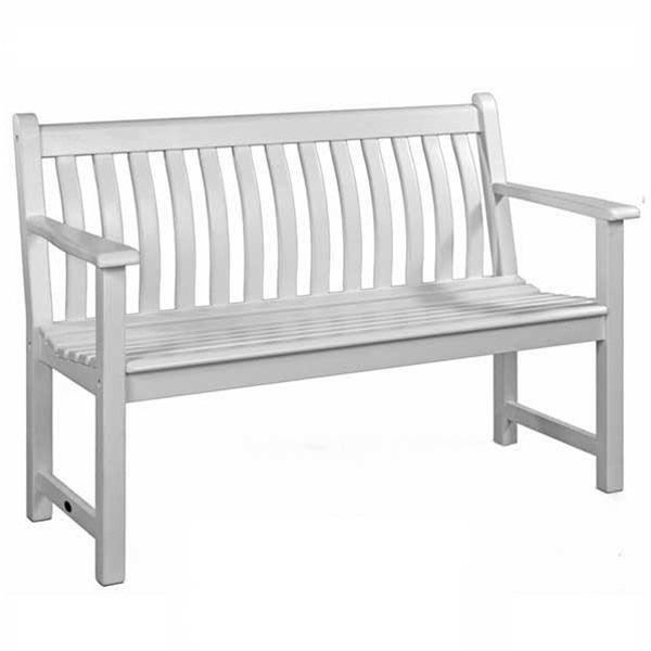 Amazing Alexander Rose New England White 5Ft Broadfield Garden Bench Forskolin Free Trial Chair Design Images Forskolin Free Trialorg
