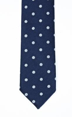 cravate mince de coton