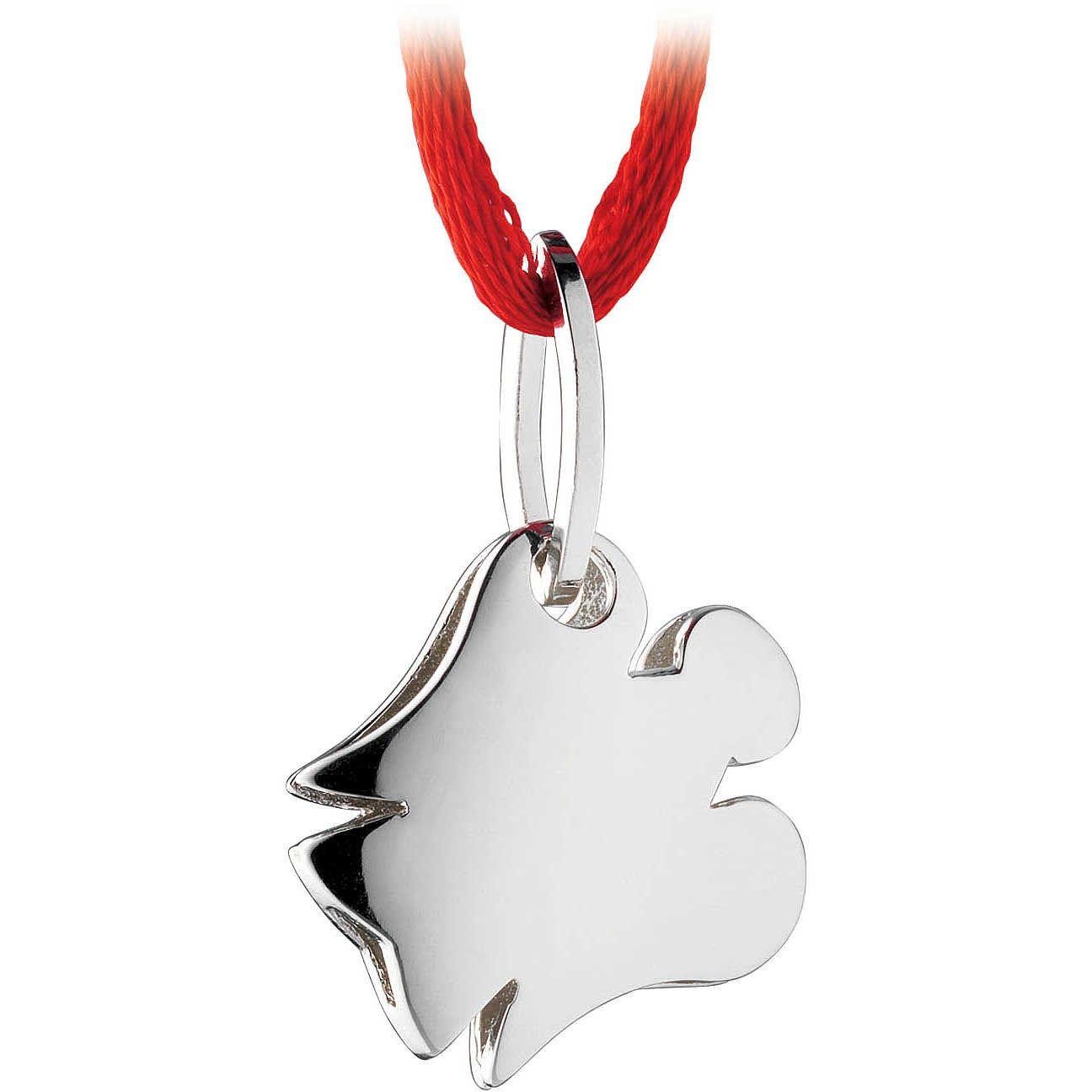 Ciondolo in argento a forma di Angelo. Un pendente per collane, borse e braccialetti originale e dal design moderno | Roberto Giannotti  #Angelo #Angelo #angioletto #angioletti #ciondoli #ciondolo #charm #charms #pendente #pendenti