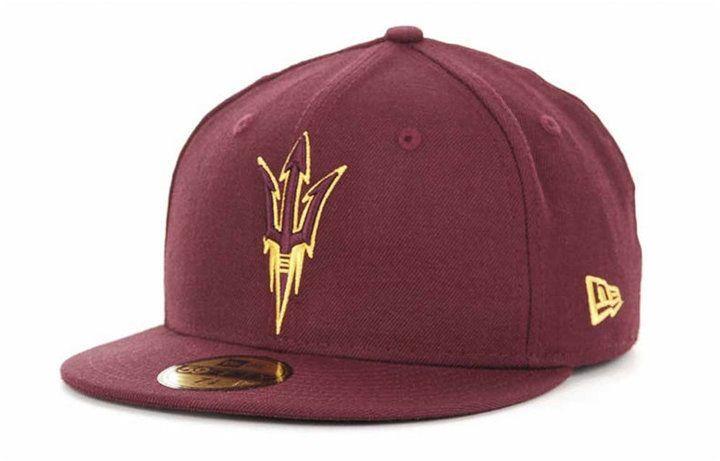 New Era Arizona State Sun Devils Ncaa Ac 59FIFTY Cap - Red 7 1 4 ... 5c561c4f0e97
