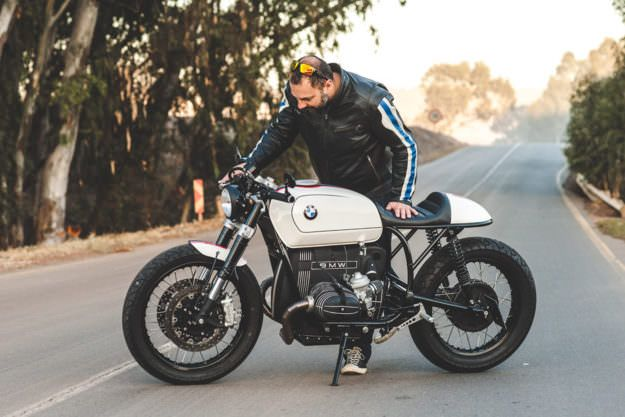 Extrem Mark Johnston's eleventh BMW is this R100RT cafe | BMW, Cafes and  ER77