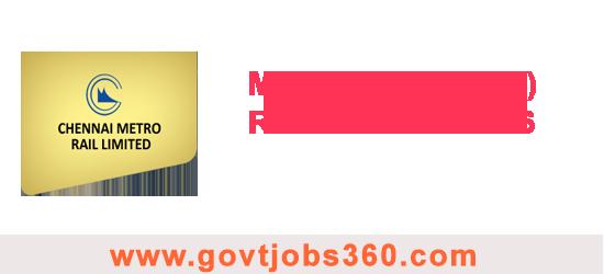 Metro Rail(CMRL) Recruitment 2016