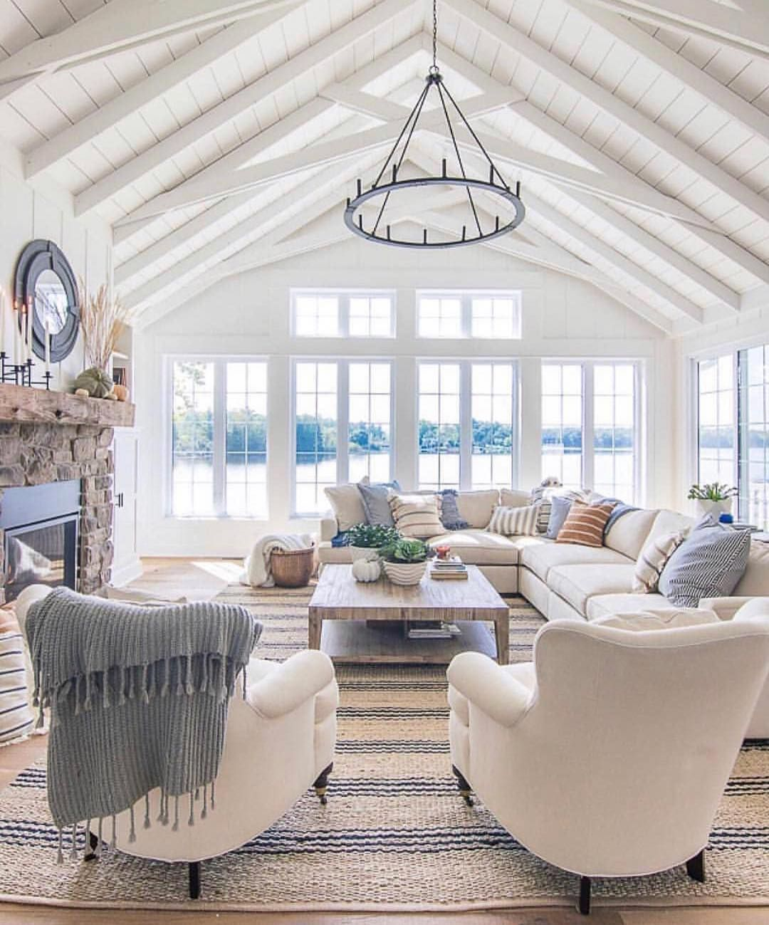 The Vintage Market On Instagram Those Vaulted Ceilings Are