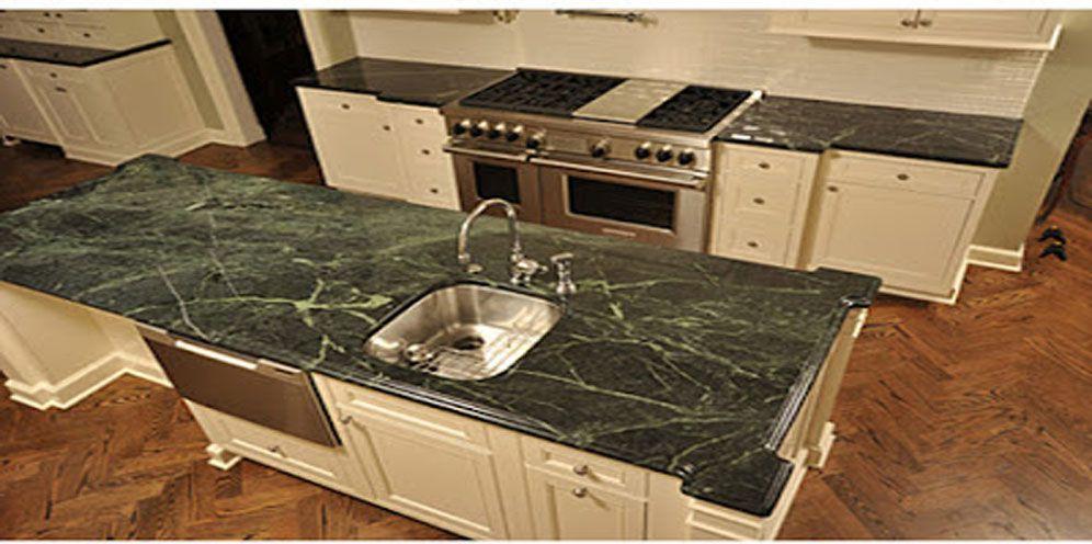 Introducing Dark Green Marble
