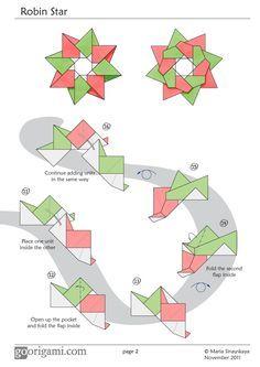 how to make a folding ninja star