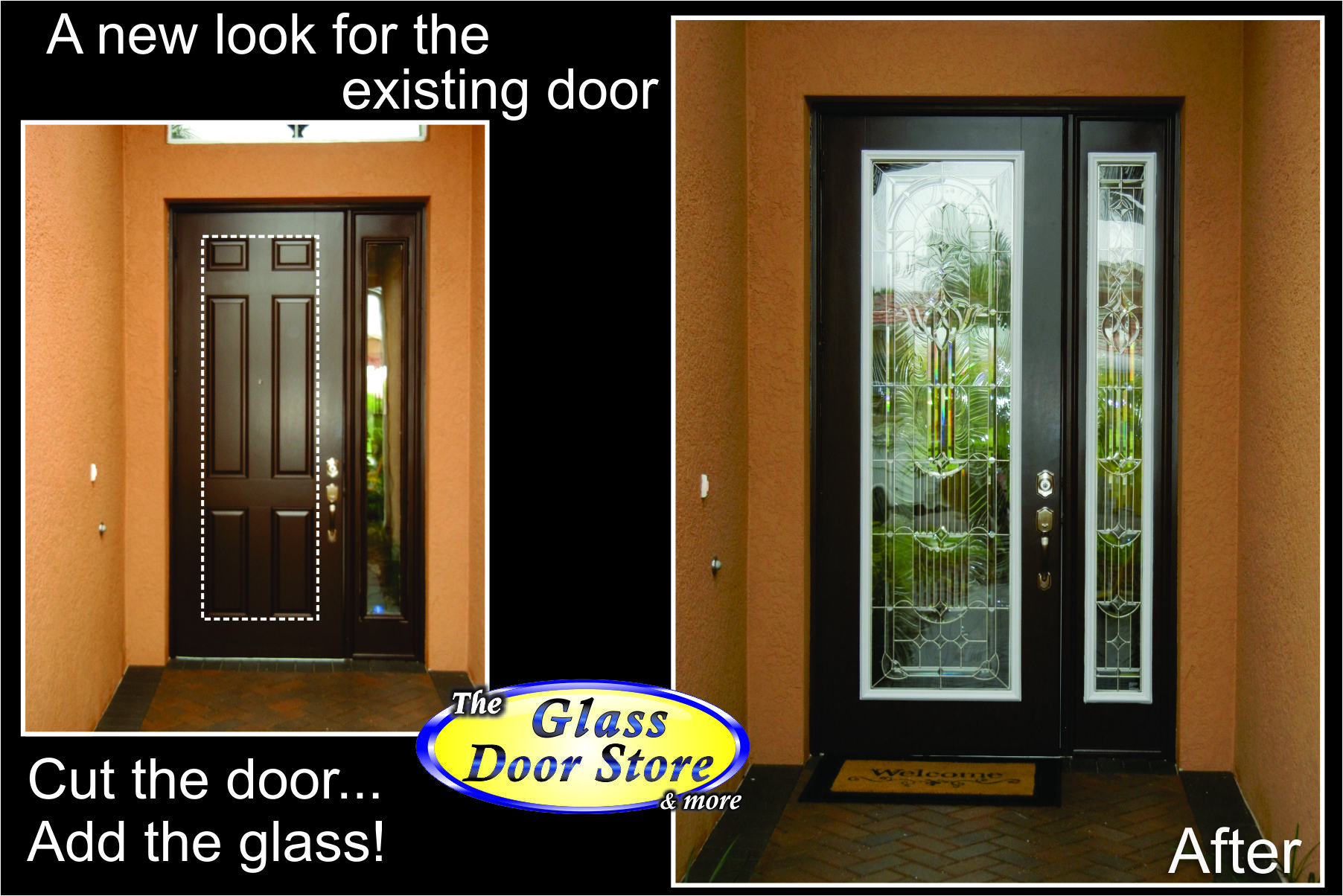 Beautiful Metal Glass Entry Doors