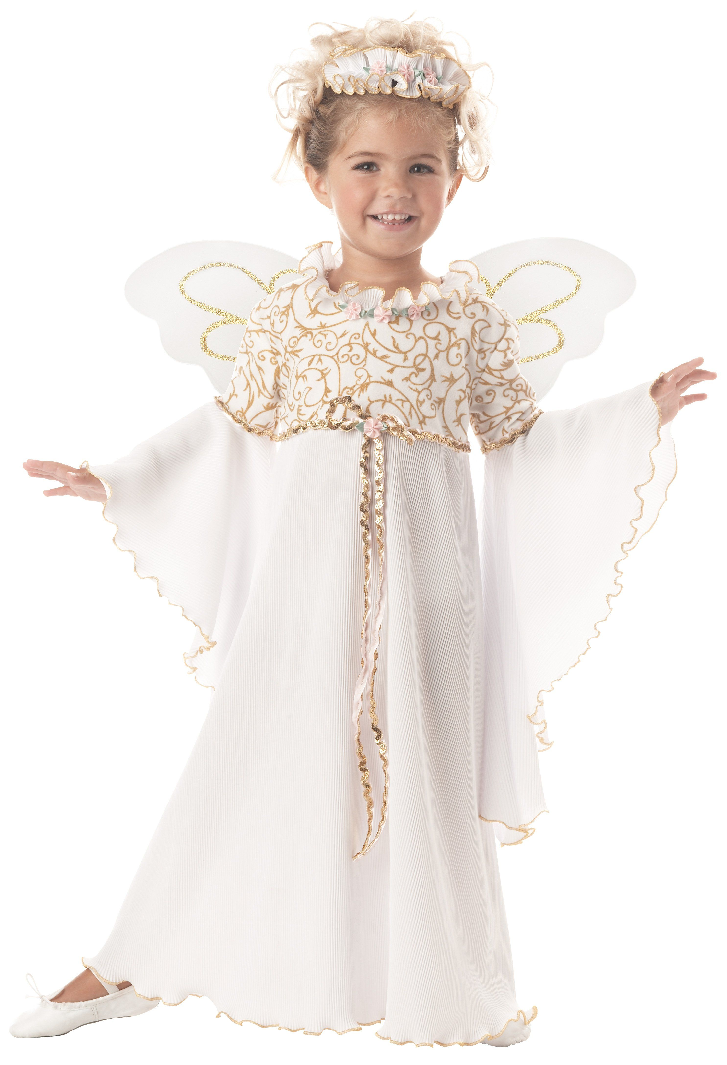 Guardian Angel Child Costume | Toddler costumes, Children costumes ...