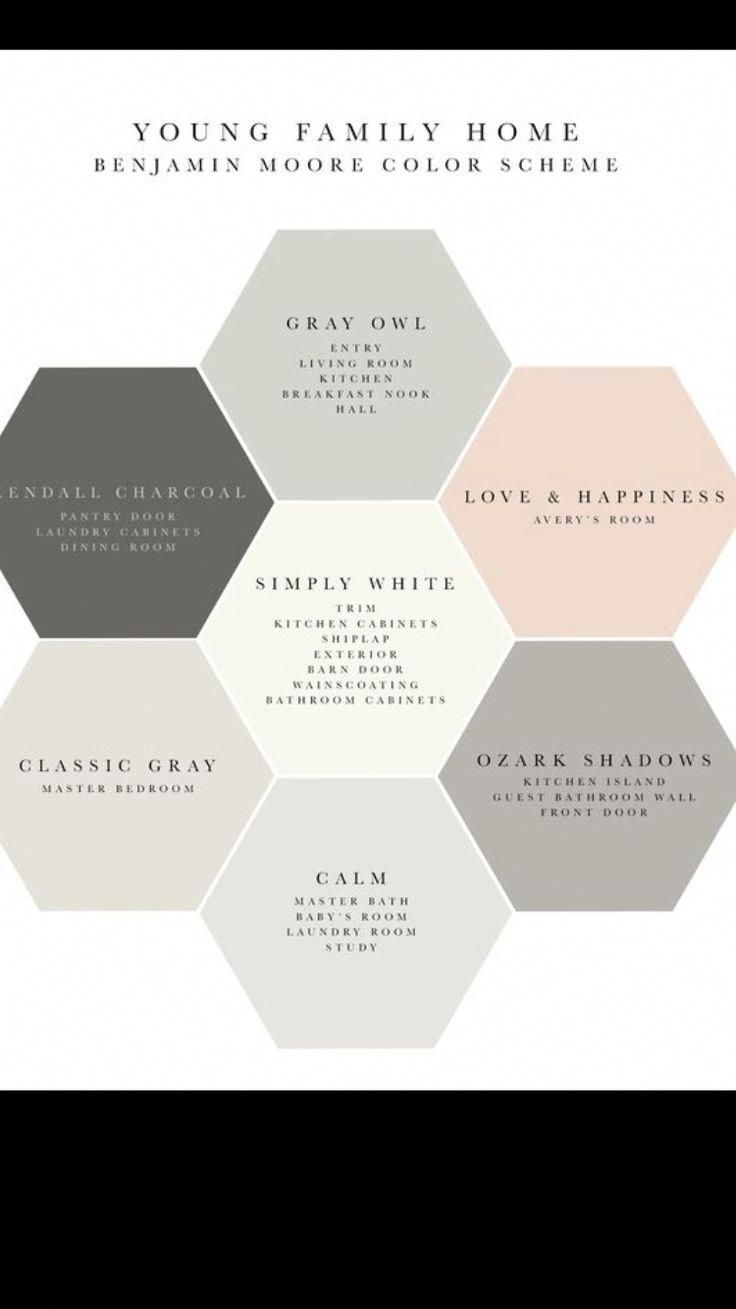 Soft Neutral Shades Of Gray With Blushing Color Accents Are A