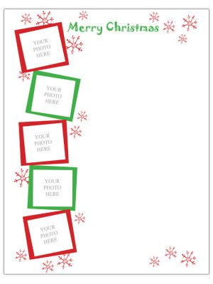 Free Christmas Letter Templates  Christmas Gifts Homemade Boys