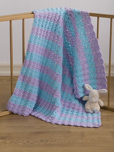 Ravelry Project Linus Baby Blanket Pattern By Carrie Carpenter