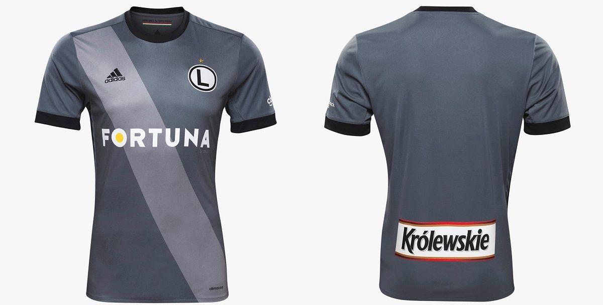 3b5b87885d1b6 Camisas do Legia Varsóvia 2017-2018 Adidas