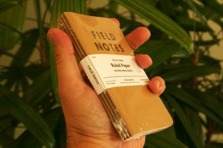 The Four the Merrier FieldNotes Pinterest - four ruled paper