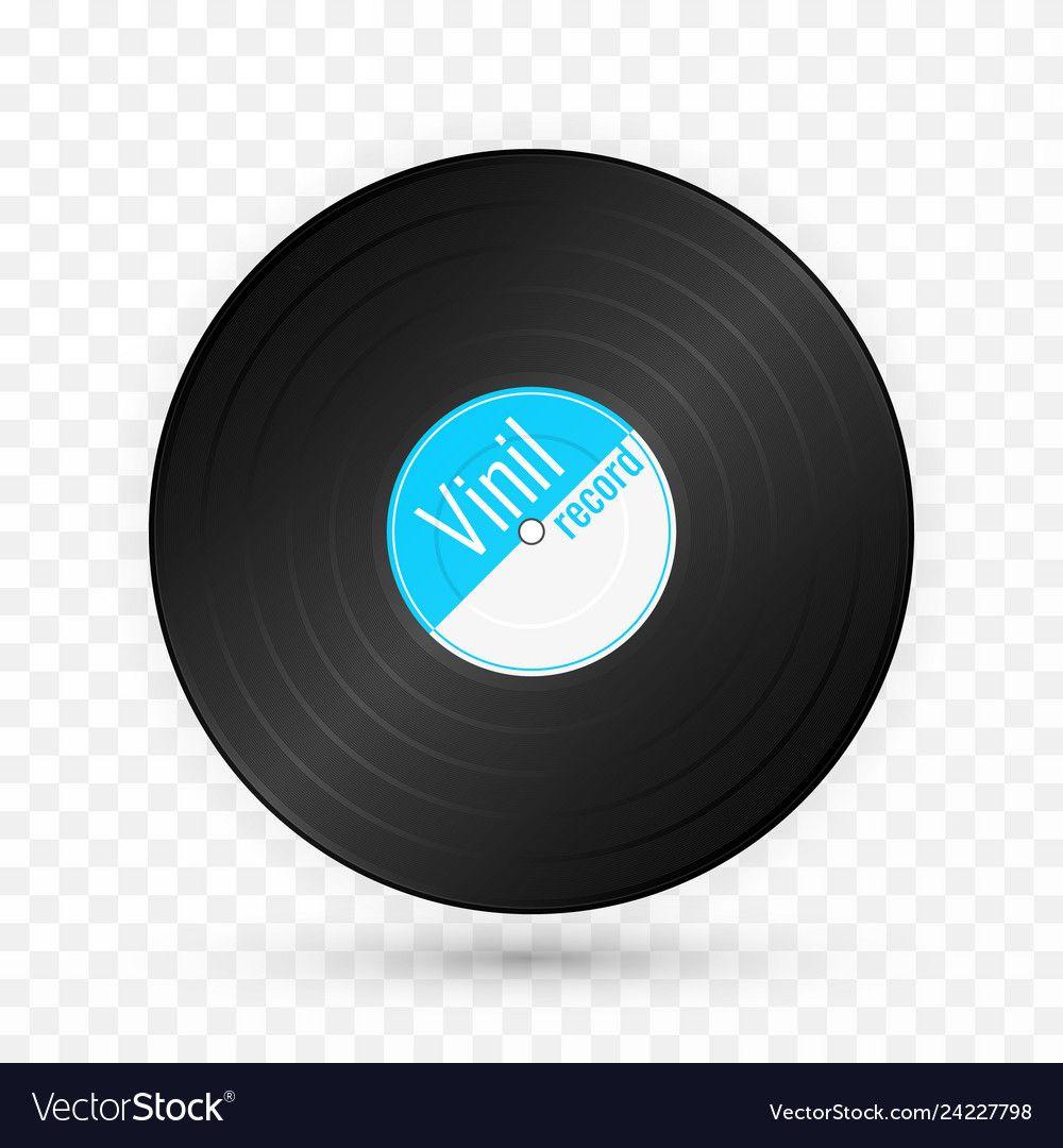 vinyl music record vintage gramophone disc vector image spon record vintage vinyl music ad in 2020 line art vector bow vector vintage frames pinterest