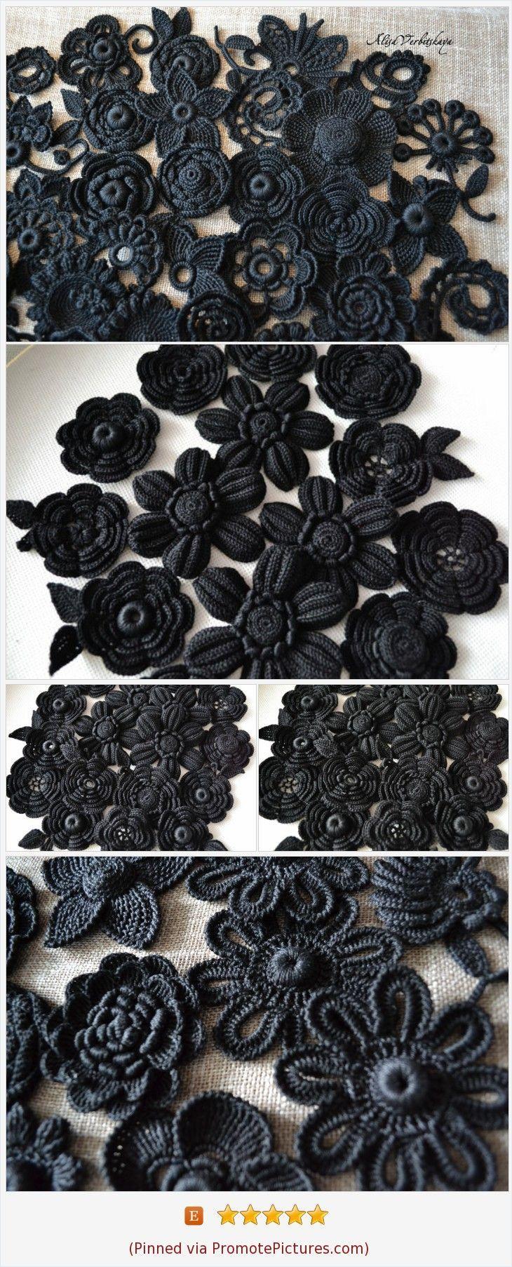 Gothic style flower Goth Witch accessories Dark Victorian Diy kit ...