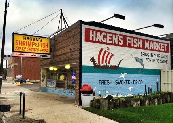 Northwest Side Chicago Landmark Hagen S Fish Market Chicago Neighborhoods Chicago Street Vacation Spots