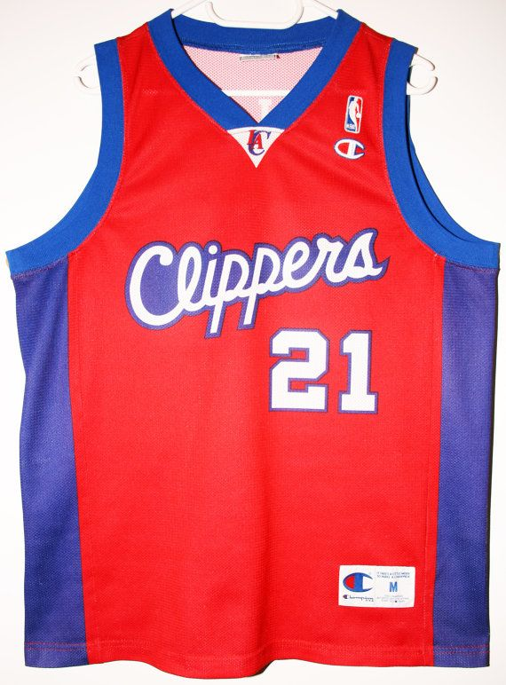 1ad9e7fff4c Champion NBA Basketball Los Angeles Clippers #21 Darius Miles Trikot/Jersey  Size 40 - Größe M - 59,90€ #nba #basketball #trikot #jersey #etsy #sport ...