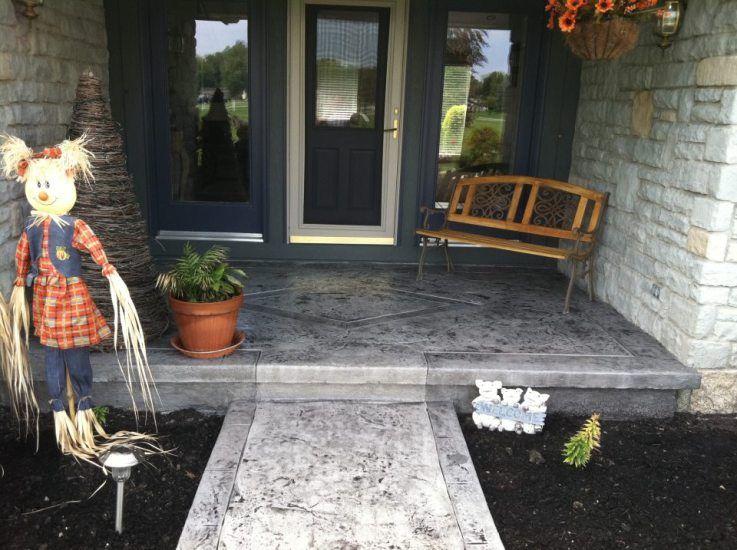 lima ohio concrete porch stamping ohio decorative concrete