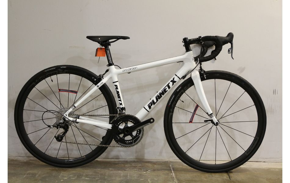 Planet X Pro Carbon Sram Rival 11 Road Bike Small White Cycling